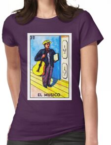 El Musico Womens Fitted T-Shirt