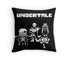 Undertale Throw Pillow