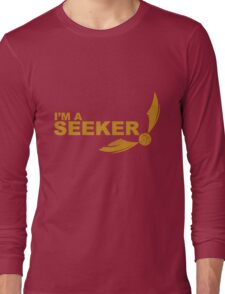 I'm a Seeker - Yellow ink Long Sleeve T-Shirt