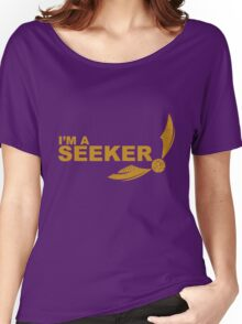 I'm a Seeker - Yellow ink Women's Relaxed Fit T-Shirt