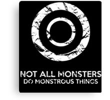Not All Monsters Do Monstrous Things - Teen Wolf Canvas Print