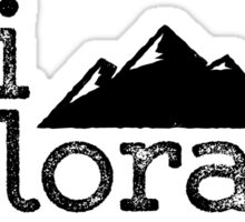 Vintage Ski Colorado Mountains Sticker