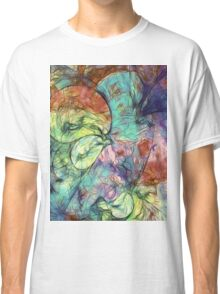 Muted Heaven Abstract Art Classic T-Shirt