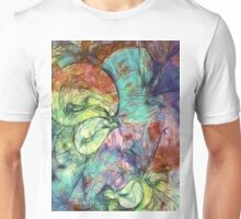 Muted Heaven Abstract Art Unisex T-Shirt