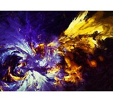 Firefly Abstract Expression Art Photographic Print