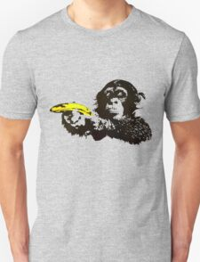 Monkey To Banana guns T-Shirt