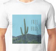 Free Hugs Cactus Unisex T-Shirt