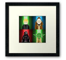 Force Square Framed Print