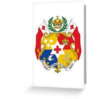 Tonga (Coat of Arms)  Greeting Card