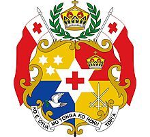Tonga (Coat of Arms)  Photographic Print