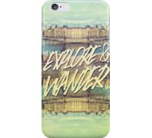 Explore & Wander Seine River Louvre Paris France iPhone Case/Skin