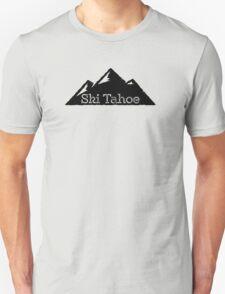 Ski Lake Tahoe Mountains Unisex T-Shirt