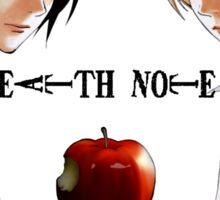 Death Note  - L & Light Yagami Sticker
