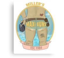 MILLER'S MAXI BUNS Canvas Print