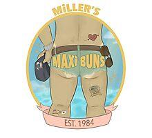 MILLER'S MAXI BUNS Photographic Print