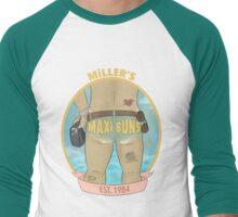 MILLER'S MAXI BUNS Men's Baseball ¾ T-Shirt