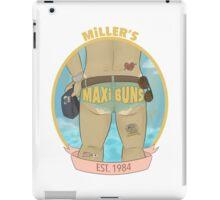 MILLER'S MAXI BUNS iPad Case/Skin