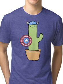Cactus America Tri-blend T-Shirt