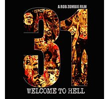 31 The Evil Clowns Horror Movie 2016 Photographic Print