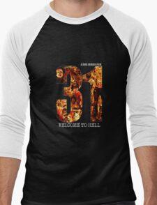 31 The Evil Clowns Horror Movie 2016 Men's Baseball ¾ T-Shirt