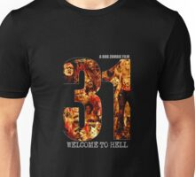 31 The Evil Clowns Horror Movie 2016 Unisex T-Shirt