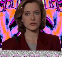 All Hail Dana Scully Logo Sticker