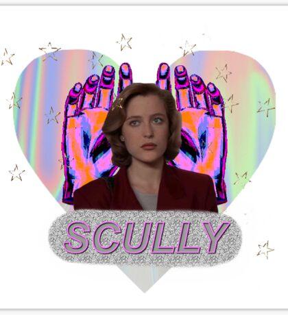 All Hail Dana Scully Logo Sticker