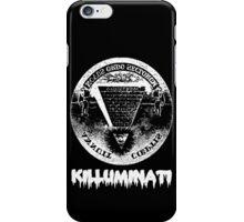 Killuminati-black iPhone Case/Skin