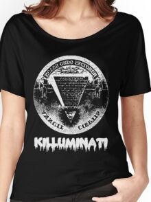 Killuminati-black Women's Relaxed Fit T-Shirt