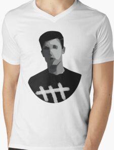 SM Mens V-Neck T-Shirt