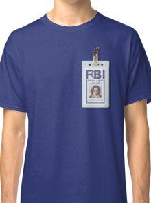 Dana Scully Badge Classic T-Shirt