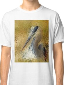 Life In The Sunshine Bird Art Abstract Realism Classic T-Shirt