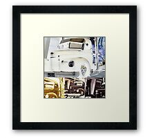 Gilbert's Trucks Framed Print