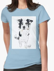 Border Collie Beauty Womens Fitted T-Shirt