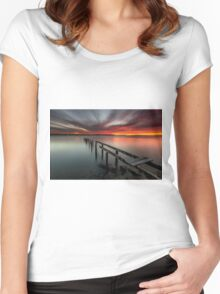 Dusk & Delapidation - Cleveland Qld Australia Women's Fitted Scoop T-Shirt