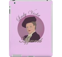 Lady Violet Approved iPad Case/Skin