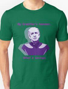 """What a savings."" Unisex T-Shirt"