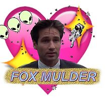 Believer Babe Fox Mulder by Stephanie Thomas