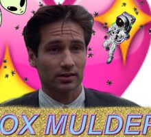 Believer Babe Fox Mulder Sticker