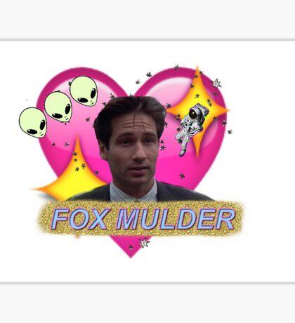 Believer Babe Fox Mulder Sticker
