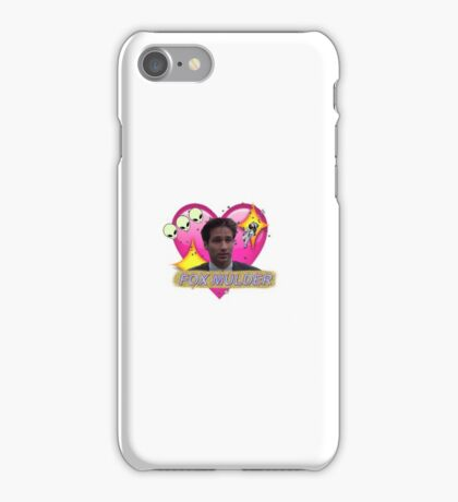 Believer Babe Fox Mulder iPhone Case/Skin