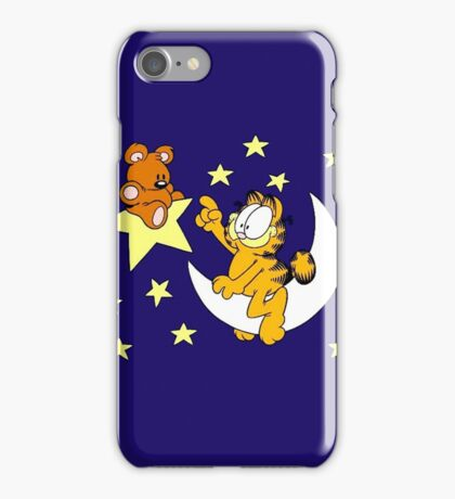 Garfield and Bear iPhone Case/Skin