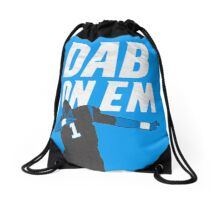 Cam Newton 'Dab On Em'  Drawstring Bag
