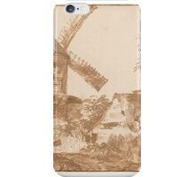 Jan Lievens the Elder Landscape with Windmill and Cottages iPhone Case/Skin