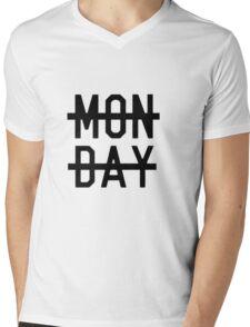 Monday Mens V-Neck T-Shirt