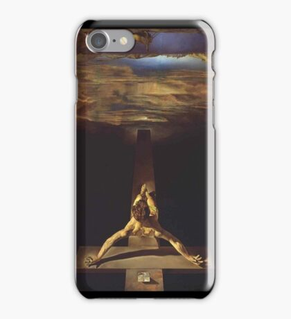 Christ of Saint John of the Cross - Dali Case. iPhone Case/Skin