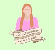 On Wednesdays We Wear Pink Hipster   Pale Green by Lucy Lier