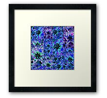 Beautiful Blues Framed Print