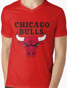 Bulls Mens V-Neck T-Shirt