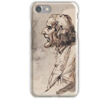 JOHAN TOBIAS SERGEL, OLD WORKER iPhone Case/Skin